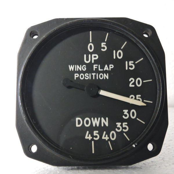 Flap Position Indicator, 0-45 Degrees, Bendix Type 20000-11M-4