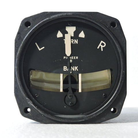 Turn and Bank Indicator, Electric, PN 3906-1M-A1
