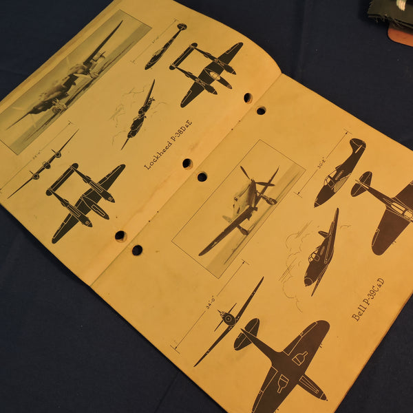 Silhouette Handbook of US Army Air Forces Airplanes TO 00-40-1 1942