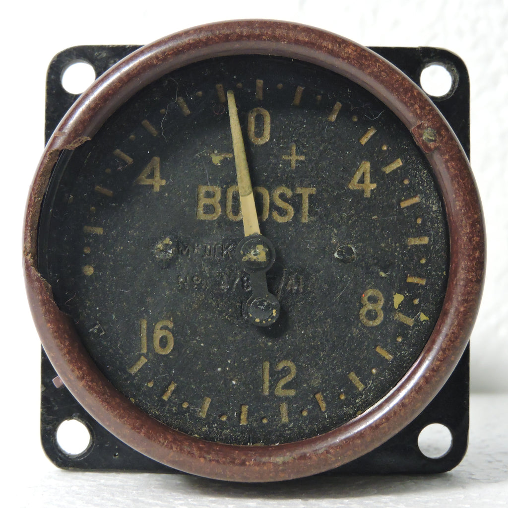 Boost Pressure Gauge, -7 to 16 PSI, Mk IIIK