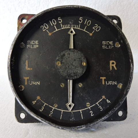 Turn and Slip Indicator, Mk IA, 6A/675, RAF 1939 Core
