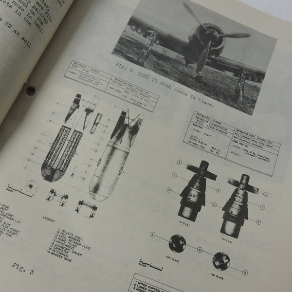 Technical Air Intelligence Center Summary #3 Misc Japanese Aircraft Development