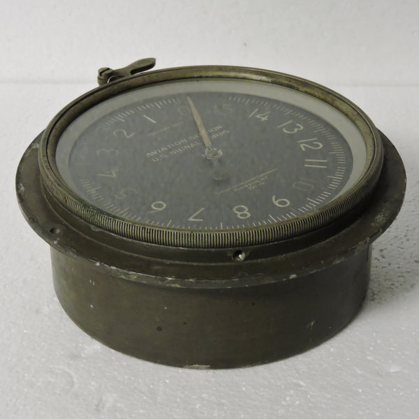 Altimeter, Air Section US Signal Corps, 12,000FT, WWI