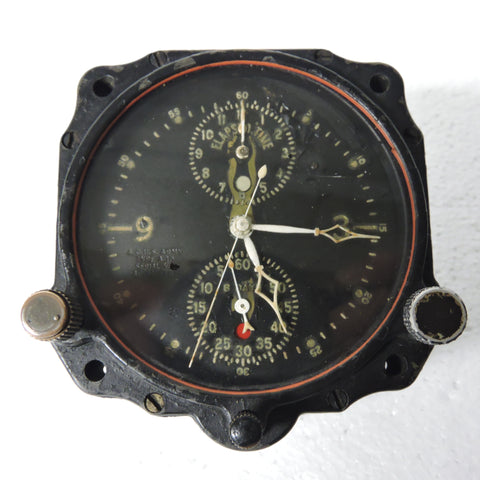 Aircraft Clock, Type A-10, LeCoultre Chronoflite