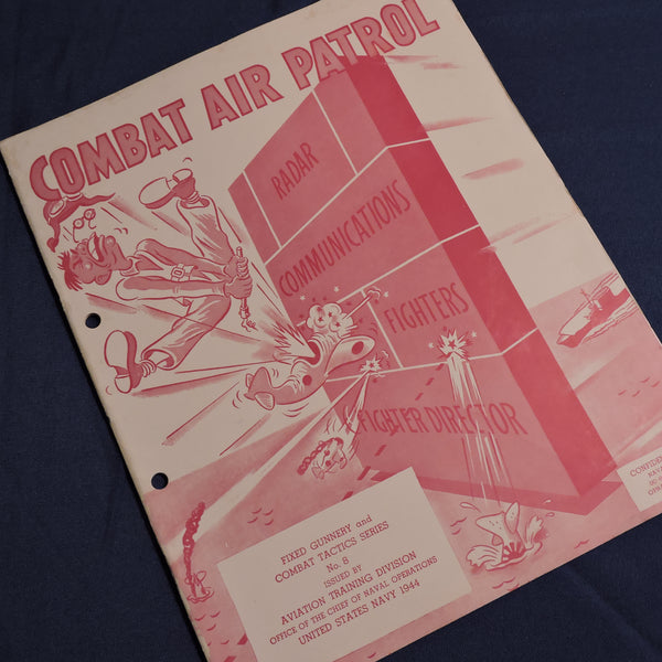 Combat Air Patrol, Training Booklet, US Navy 1944