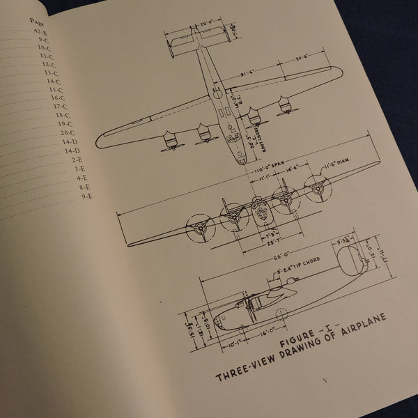 B-24 Liberator Service Manual, Models A thru D and LB-30, 1942
