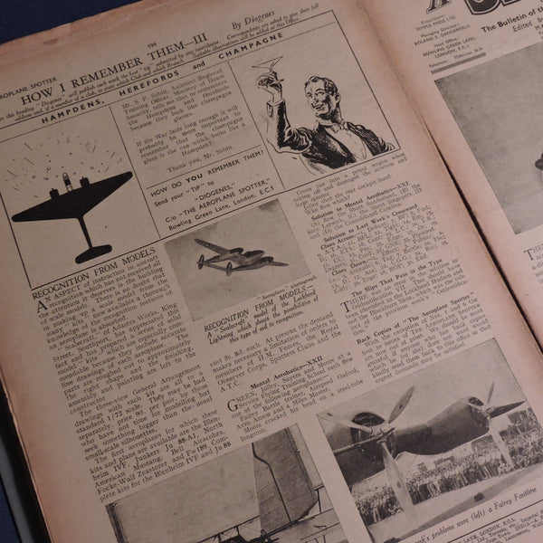 The Aeroplane Spotter Weekly, Vol 1 Jan-June 1941 Collection