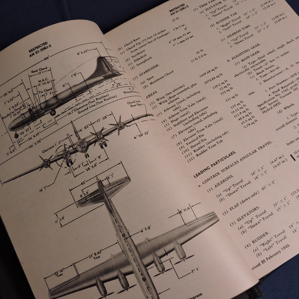 B-29 Superfortress Erection and Maintenance Manual, USAAF 1945 (90% complete)