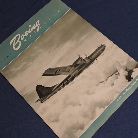 Boeing Company Magazine, July 1944, B-29 Focus