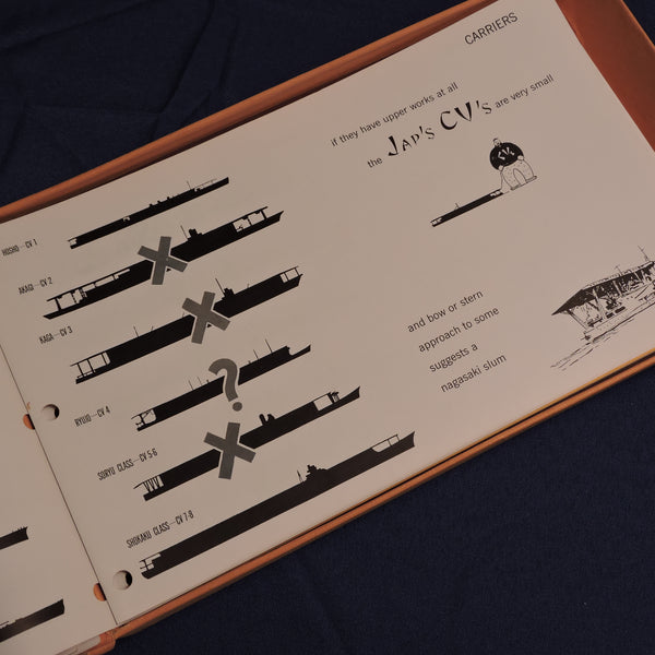 Recognition Manuals, 3 Sets, Office of Naval Intel, ONI 41-42, 54-R, and 202
