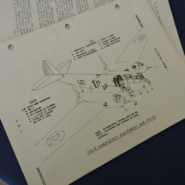 Bell YFM-1A Airacuda Handbook of Operations and Flight Instructions