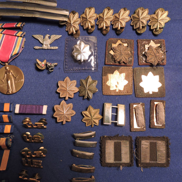 US Air Force Medal Ribbons Badges Insignia (Lot of 50+ Items)