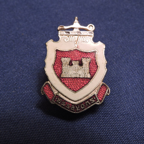 Vintage US Army Corps of Engineers Pin