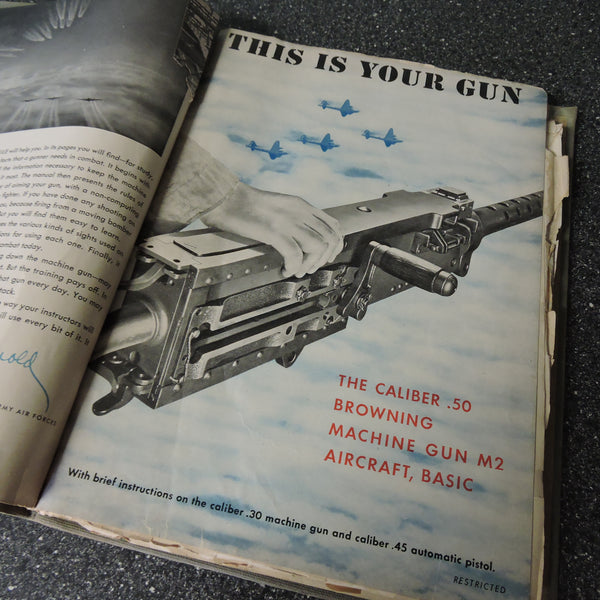 Gunners Information File USAAF Manual No 20, B-17, B-24, B-25