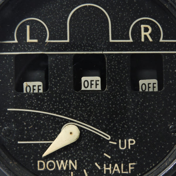Wheel and Flap Position Indicator, 6531-1L-B