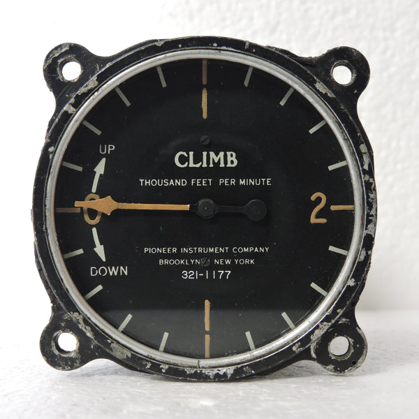 Rater of Climb / Vertical Speed Indicator, Pre-WWII