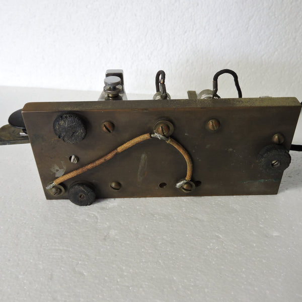 Telegraph Key, Vintage 1930's, Custom-Made, Vibroflex Components