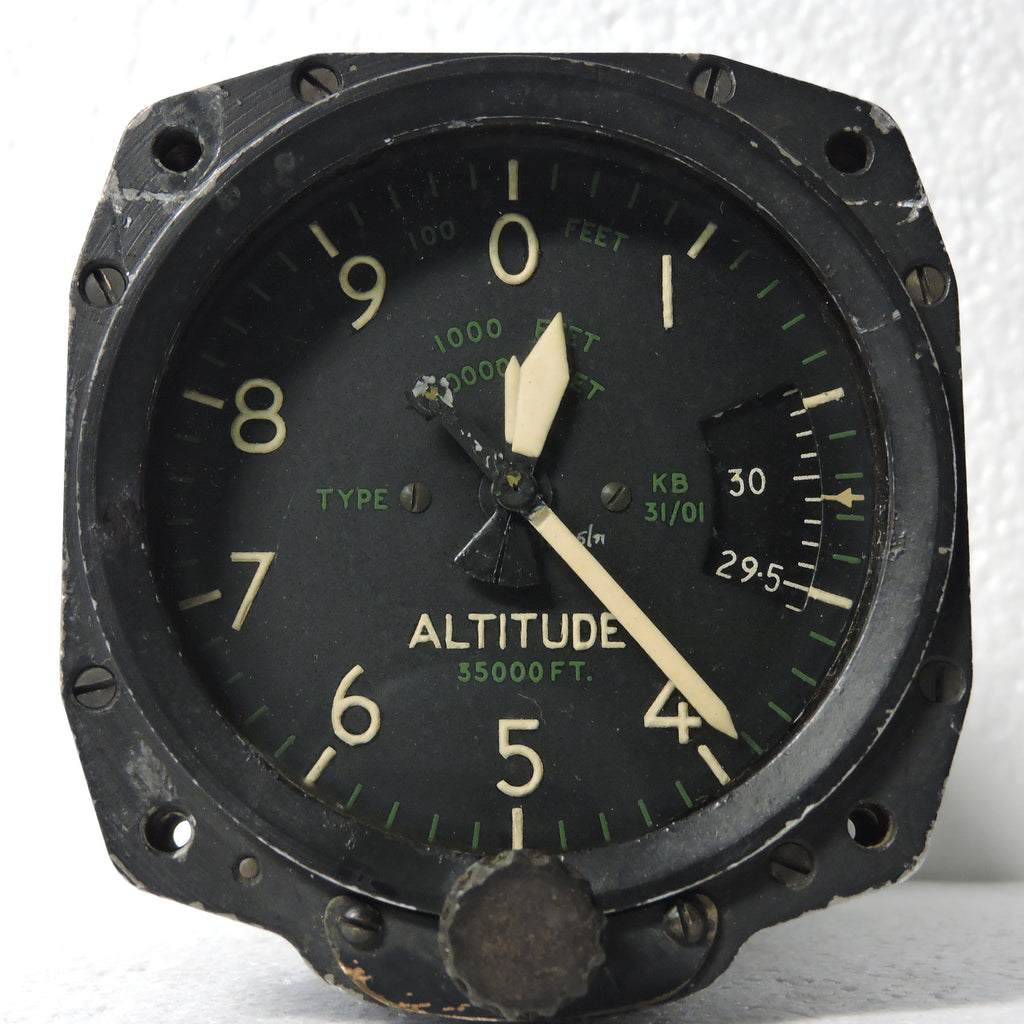 Altimeter, Sensitive, 35,000 ft, Type KB 31/01