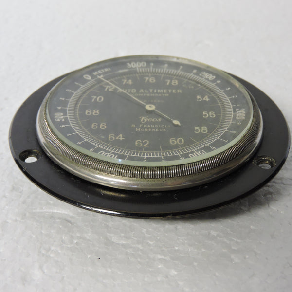 Altimeter, Automobile, 1920-30's-era