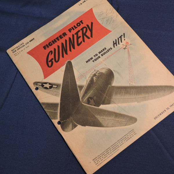 Fighter Pilot Gunnery, How to Make Your Bullets HIT, TO NO 00-25-35