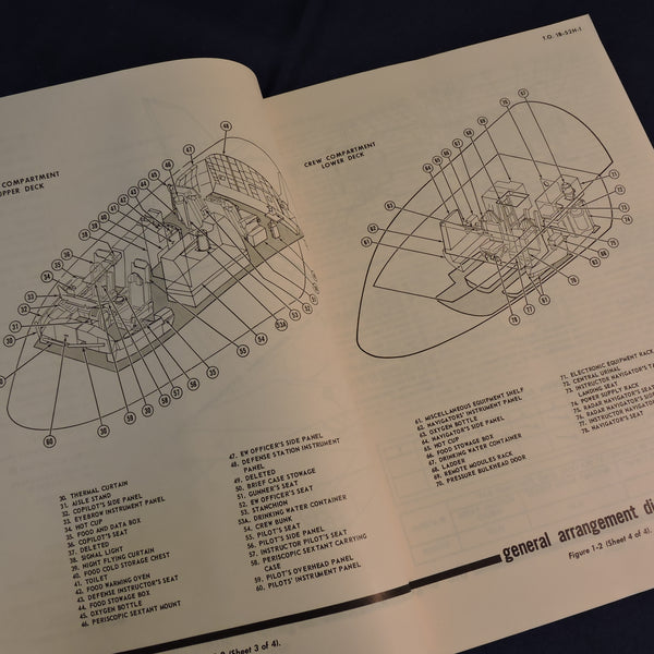 B-52H Stratofortress Flight Manual, Original, 1966 USAF