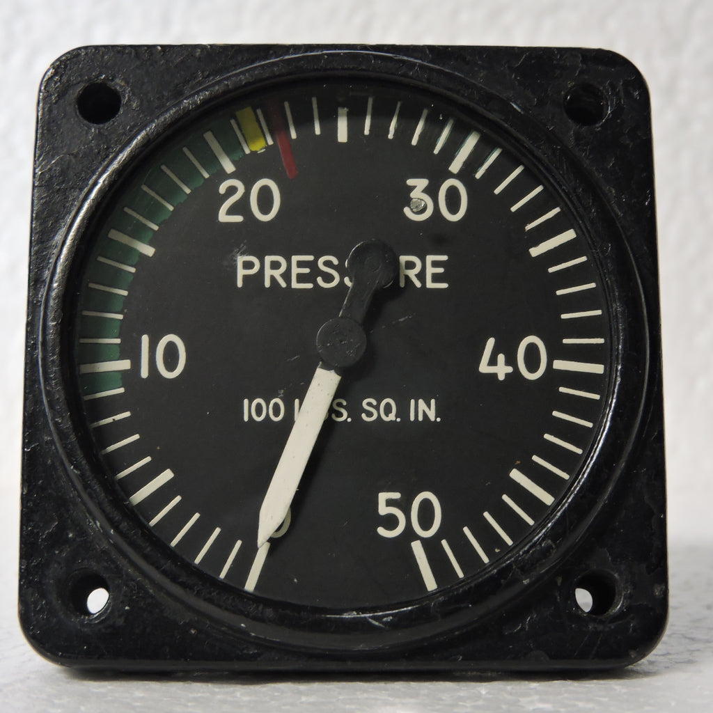 Pressure Gauge, 50PSI, Type 24100-45G-21-A1