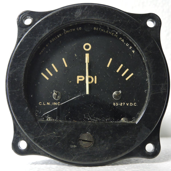Pilot Director Indicator as used with C-1 Autopilot, WWII B-29, B-24, B-17 (B)