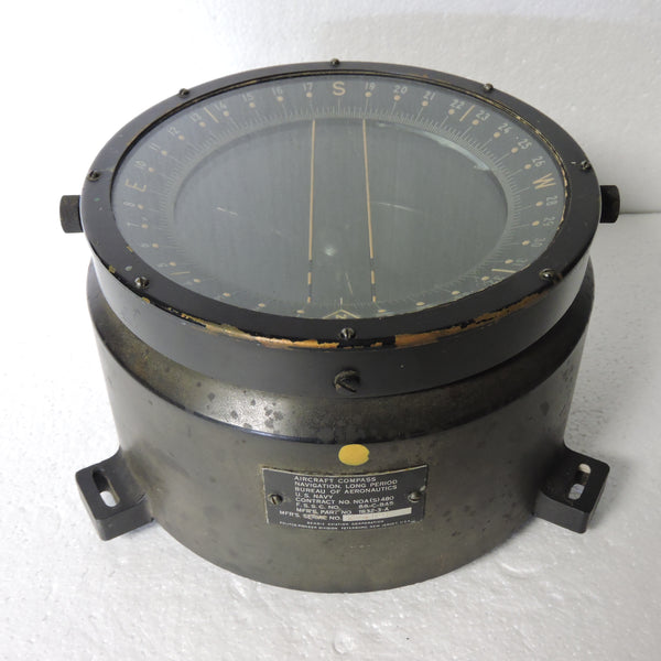 Compass, Aperiodic, US Navy Aviation, 88-C-845 (Type D-12)- 2