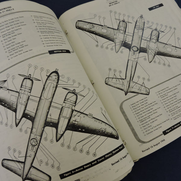 A-26 Invader Erection and Maintenance Manual 1945 AN  01-40AJ-2 Copy