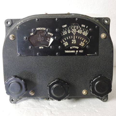 Altitude and Airspeed Handset, B-29 Superfortress Gunnery System