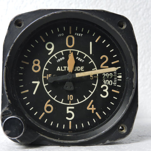 Altimeter Type B-11 20K Ft, Air Force US Army