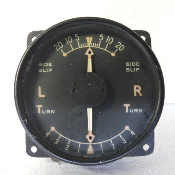 Turn and Slip Indicator, Mk IA, 6A/675, RAF