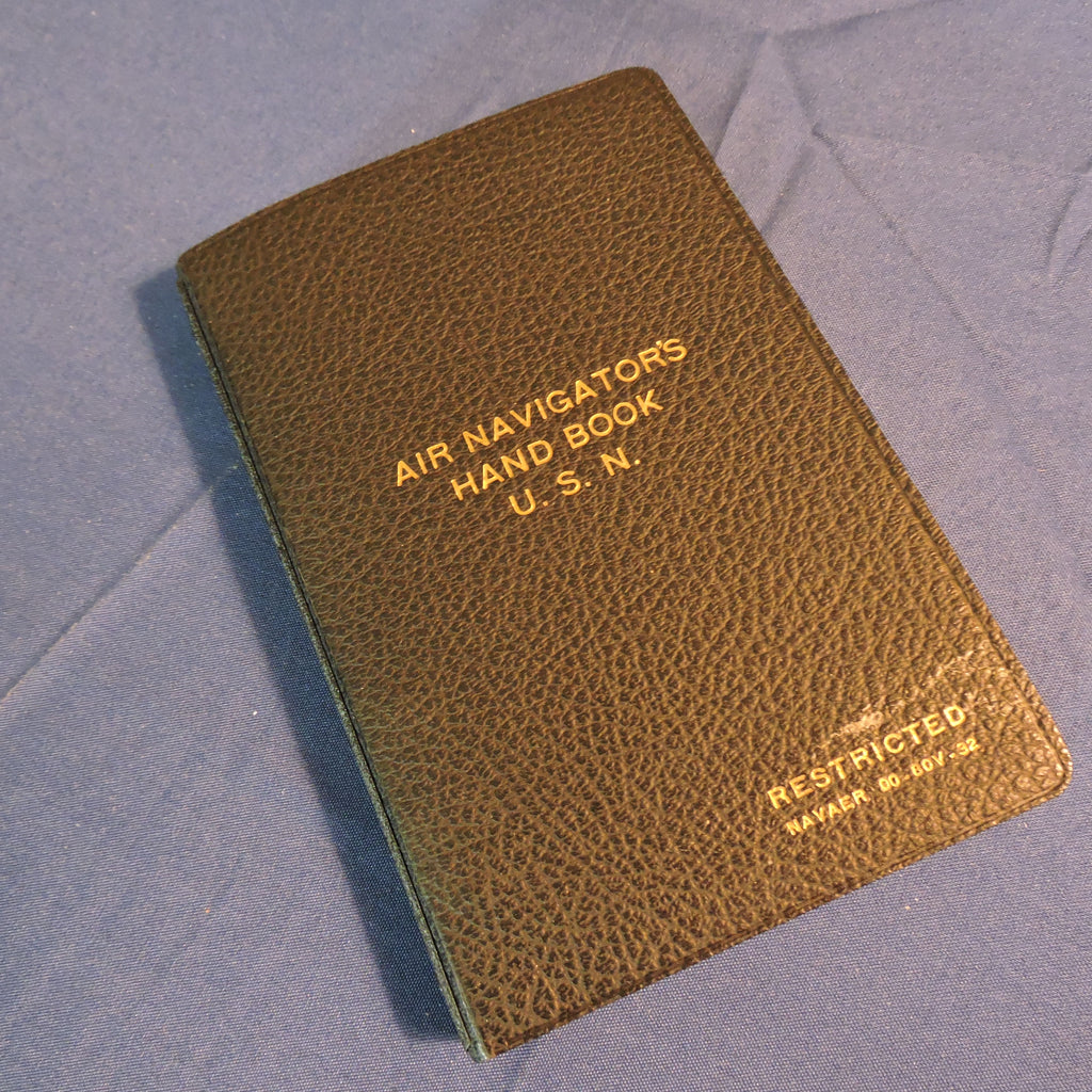Air Navigator's Handbook, US Navy June 1945