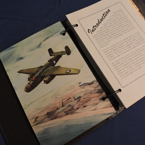 B-25C/D Mitchell Bomber On-Board Flight Manual