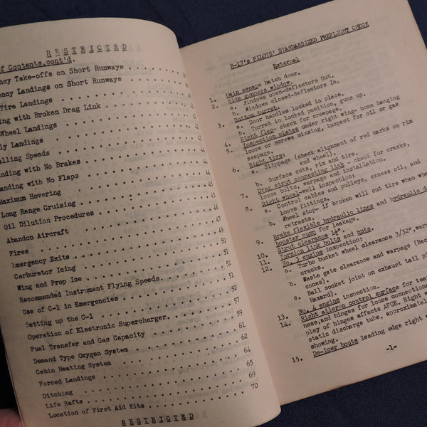 Standardization Handbook for B-17 Pilots, US Second Air Force 1944