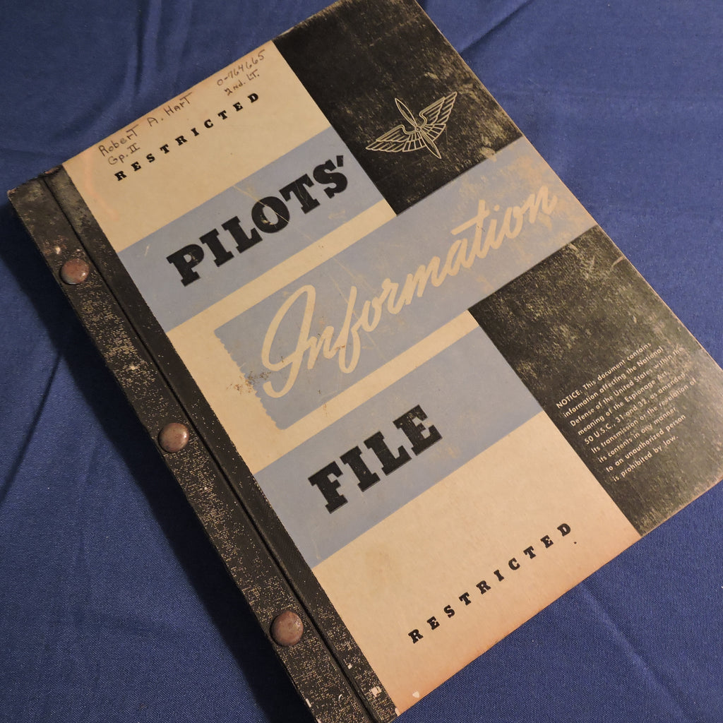 Pilots' Information File USAAF May 1945