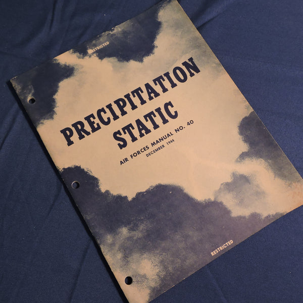 Precipitation Static, USAAF Manual No. 10 Dec 1944