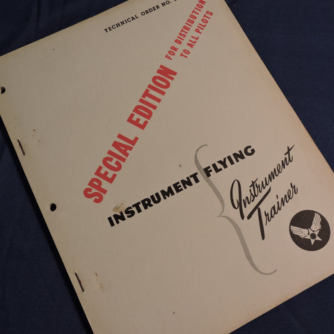 Instrument Flying, Ground Trainer, Special Edition, USAAF WWII