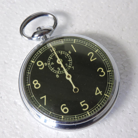 "Stopwatch, Type A-8, Navigation Watch for Parts or Repair 1944 ""Jitterbug"""