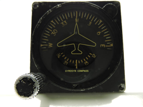Gyrosyn Induction Compass / Directional Indicator Sperry ID-567/ASN B-52