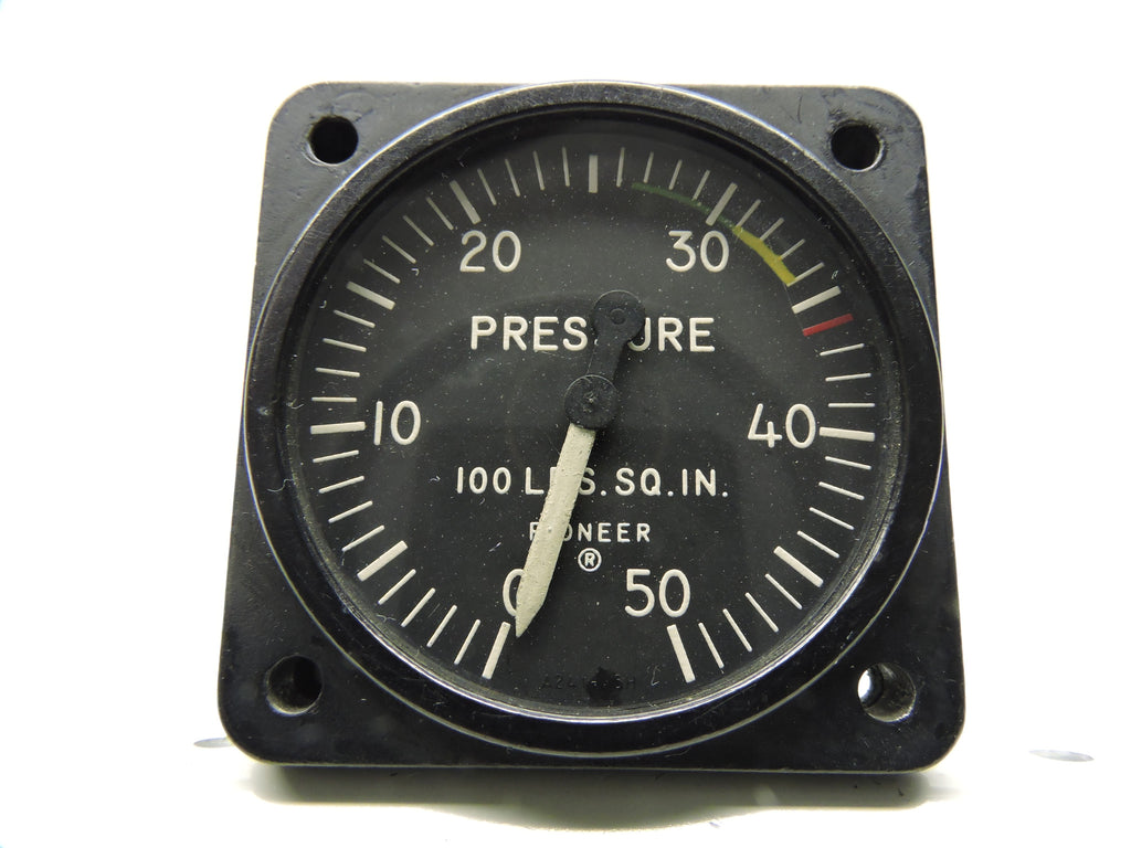 Pressure Gauge, 50PSI, Type 24100-45H-21-A1