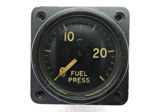 Fuel Pressure Gauge, 30PSI, PN D-115, AN-5771-1
