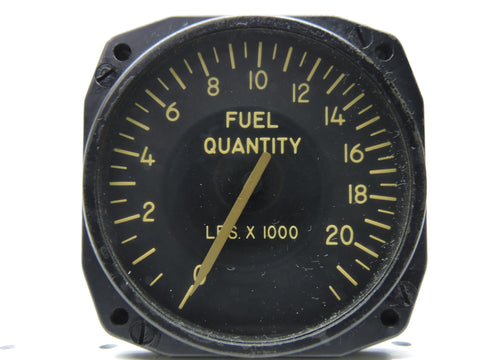 Fuel Quantity Indicator, B-47B Forward Main Tank, Minneapolis-Honeywell JG7021A37