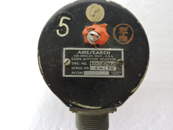 Cabin Altitude/Pressurization Selector Set (2 instruments) B-50 KC-97