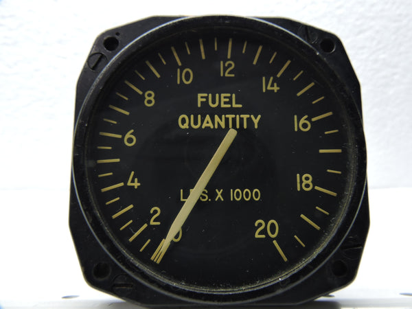 Fuel Quantity Indicator, B-47B Center Main Tank, Minneapolis-Honeywell JG7021A22