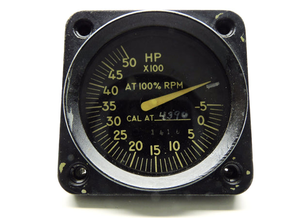 Horsepower Indicator, -500 to 5000 HP, Allison Engine