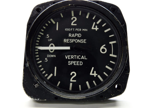 Rate of Climb/Vertical Air Speed Indicator 0-6000 Ft/Min Aerosonic RC60V10 for Cessna
