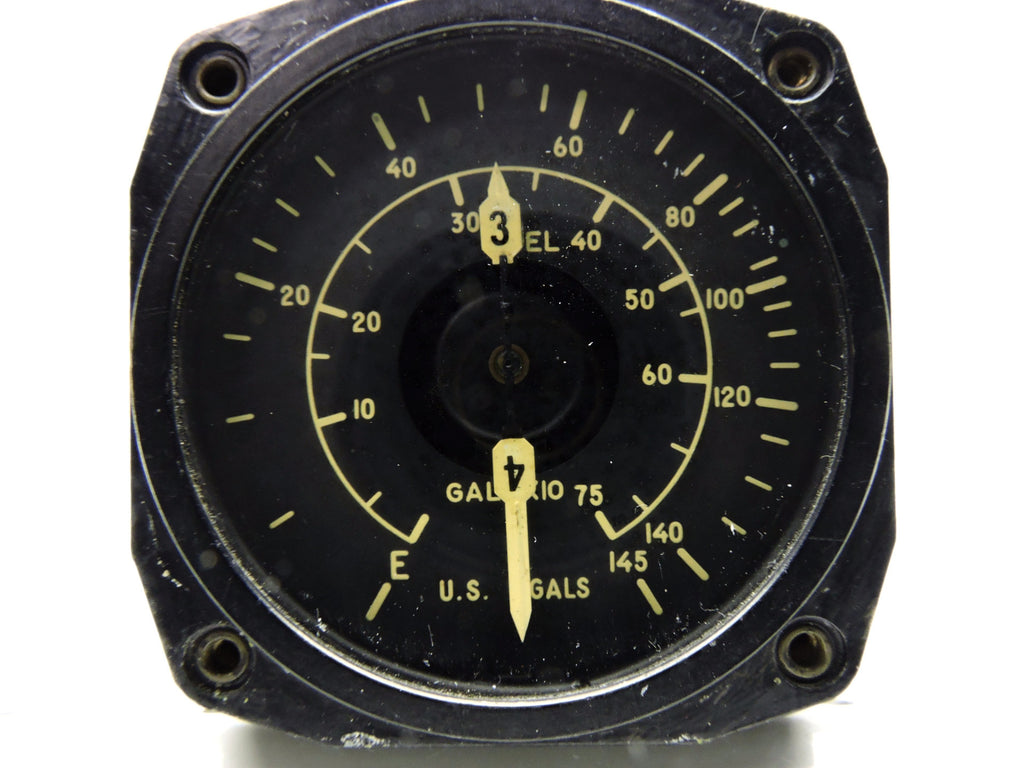 Fuel Quantity Indicator, C-69 Lockheed Constellation, Tanks 3&4,EA155AN-B-3