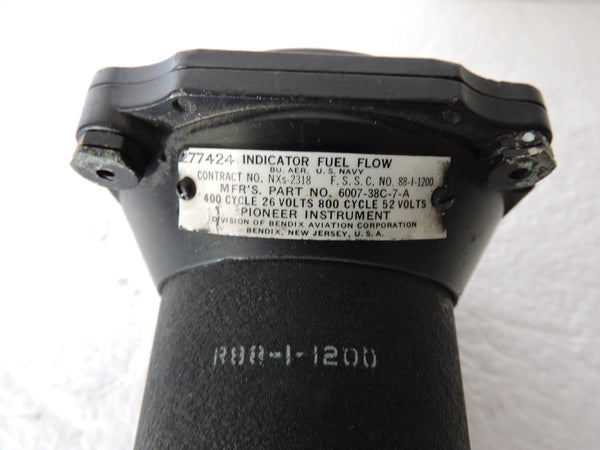 Fuel Flow Indicator, Dual Engine Bendix 6007-68C-7-A, PV-1, PV-2, P2V USNavy