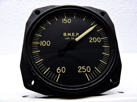 BMEP Indicator, single-engine, as used in DC-6 / C-118